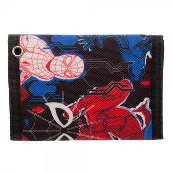 MPW Spiderman Homecoming Tri-Fold Velcro Wallet