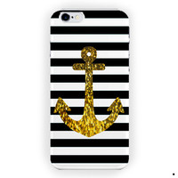 Anchor Gold Bling Suoreme Custom For iPhone 6 / 6 Plus Case