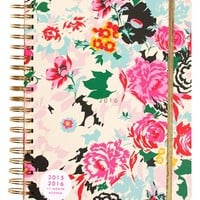 ban.do 'Large - Florabunda' Hardcover17-Month Agenda - White