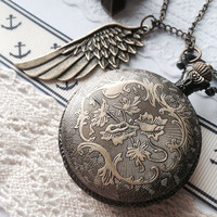Antique Pocket Watch necklace