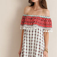 South of the Border Dress - Red