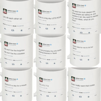 NEW Tweet Mug Ashton Irwin