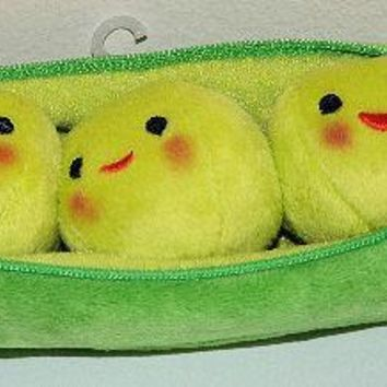 "Licensed cool 8"" Toy Story 3 Peas in a Pod Bean Bag Plush Removable Learning Toy Disney Store"