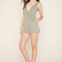 Contemporary Crisscross Romper | Forever 21 - 2000185729