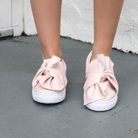 Every Word Pink Ribbon Sneaker