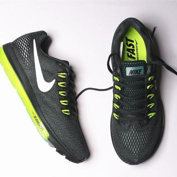 nike zoom all out low 3/4 Zoom Air Max Green 878670-300