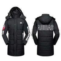 ADIDAS Women Men Black Long Jacket Coat I-A001-MYYD One-nice™