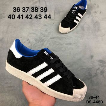 Adidas HALF SHELL 80s Men and Women Black Fashion Outdoor Skate Shoes