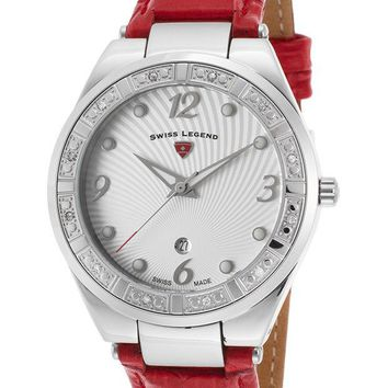 Swiss Legend Passionata White Dial Ladies Watch 10220SM-02-RDS