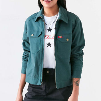 Dickies Twill Zip-Front Coach Jacket - Urban Outfitters