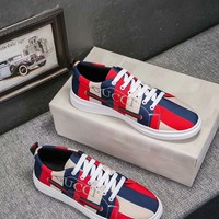 Gucci Man Fashion Casual Sneakers Sport Shoes Casual leather shoes