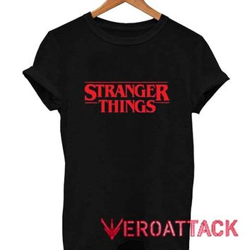 Stranger Things Letter T Shirt Size XS,S,M,L,XL,2XL,3XL
