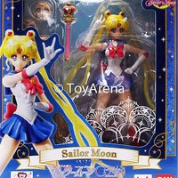 S.H. Figuarts Sailor Moon Pretty Guardian Sailor Moon Crystal Action Figure USA