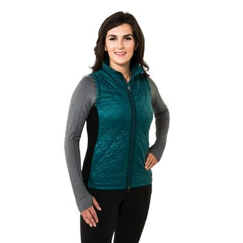Noble Outfitters Classic Quilted Vest - Deep Teal