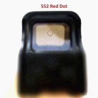 High Quality 552_X Holographic sights Red Dot Scope Reflex Collimator Sight AA Batteries For Airsoft Free Shipping