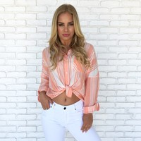 Sundream Stripe Blouse