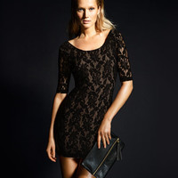 Short Lace Dress - from H&M