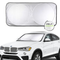 3 Size Car Window Sunshade Covers For PickUp Track ATV SUV Car Sun Shade Reflective Foil Windshield Snow Blocked Anti-UV A2120