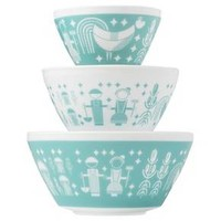 Mixing Bowl Set Pyrex