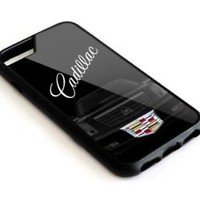 Cadillac Silver Emblem Logo Luxury Edition iPhone 7 and 7 Plus Hard Protect Case