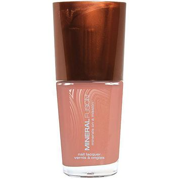Mineral Fusion Nail Polish Juicy Peach - .33 Oz