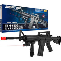 Cyma P.1158CA Airsoft Rifle with Targeting Laser