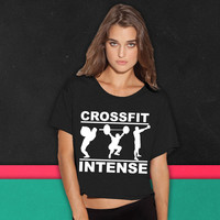 CrossFit Intense boxy tee