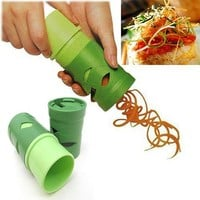 1 X Multifunction Vegetable Fruit Twister Cutter Slicer Utensil Processing Device