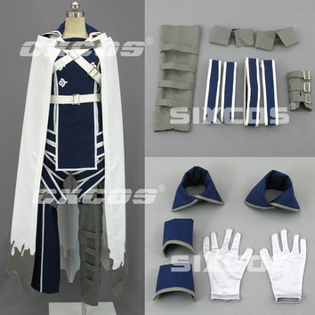 Hot New Fire Emblem Awakening Chrome Cosplay Costume Any Size Free Shipping