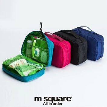 Hot Sale Beauty On Sale Hot Deal Big Capacity Waterproof Toiletry Kits Make-up Bag [6432474118]