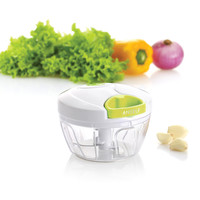 Light Green Multi-functional Manual Food Chopper