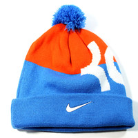 Nike Youth's KD Kevin Durant Signature Blue/Orange Beanie Hat