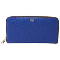 Fossil Sydney Leather Zip Around Wallet | macys.com