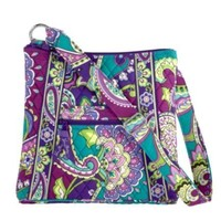Vera Bradley Large Hipster Heather
