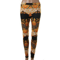 Minkpink Womens Stretch Printed Long Leggings