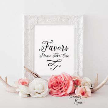 Printable Favors sign,Wedding favors sign,wedding sign, wedding signage, wedding decor,INSTANT DOWNLOAD