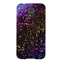 Metallic Rainbow Glitter Samsung Galaxy S5 Case