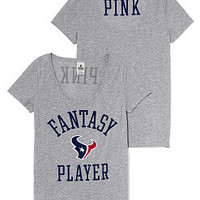 Houston Texans Scoopneck Tee - PINK - Victoria's Secret