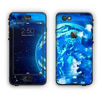 The Glowing Cloudy Planet Apple iPhone 6 Plus LifeProof Nuud Case Skin Set