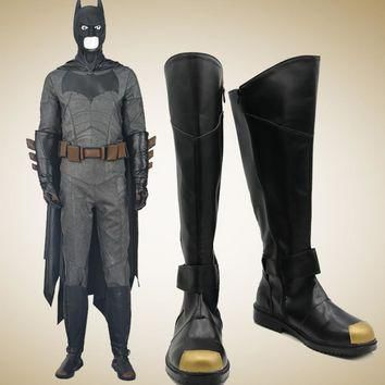 Batman Cosplay Shoes Boots Halloween Carnival Cosplay Accessories For Adult Men