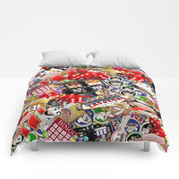 Gamblers Delight - Las Vegas Icons Comforters by gx9designs