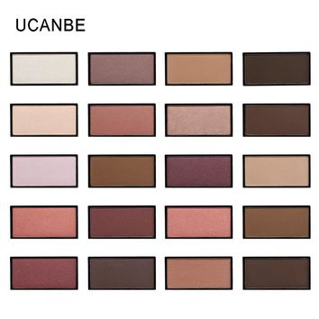 Professional Single Eye Shadow Matte Shimmer Pigment Eyeshadow Waterproof Minerals Highlighter Nude Palette Cosmetics By UCANBE