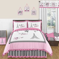 Sweet Jojo Designs Paris Bedding Collection