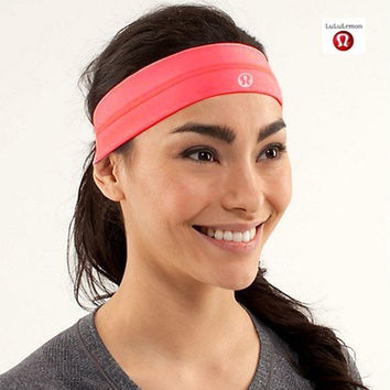 Lulu high elastic and comfortable breathable sweat hair turban anti-skid sports fitness