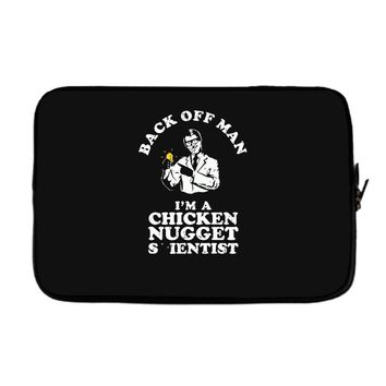 chicken nugget scientist Laptop sleeve