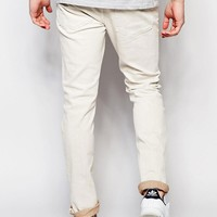 River Island | River Island Slim Fit Jeans In Off-White at ASOS