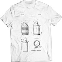 Hand Grenade with Interchangeable Fragmentation Carrier Body US Patent T-Shirt