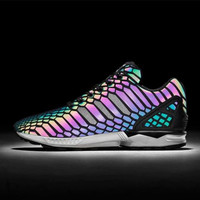 """""""Adidas"""" Trending Vogue 3M Reflective Chameleon Casual Sports Shoes"""