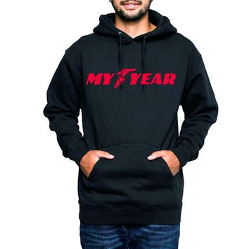 My Year Hooded Sweatshirt Infrared