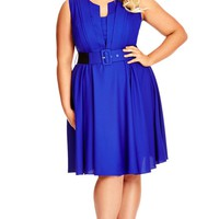 Plus Size Vintage Veronica Dress - City Chic